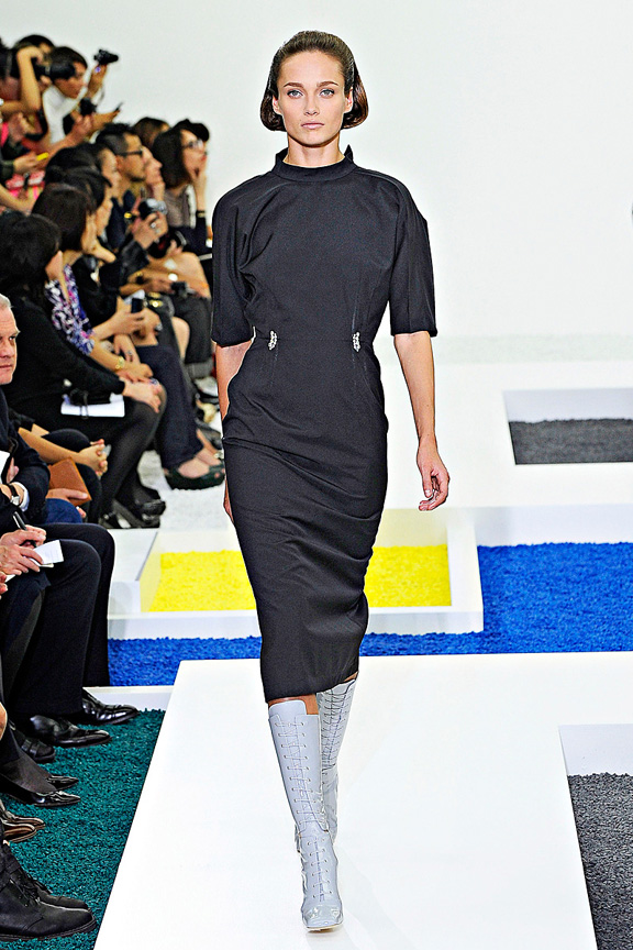 Jil Sander, Raf Simons, Milan fashion week, fashion shows, catwalk, spring summer 2012