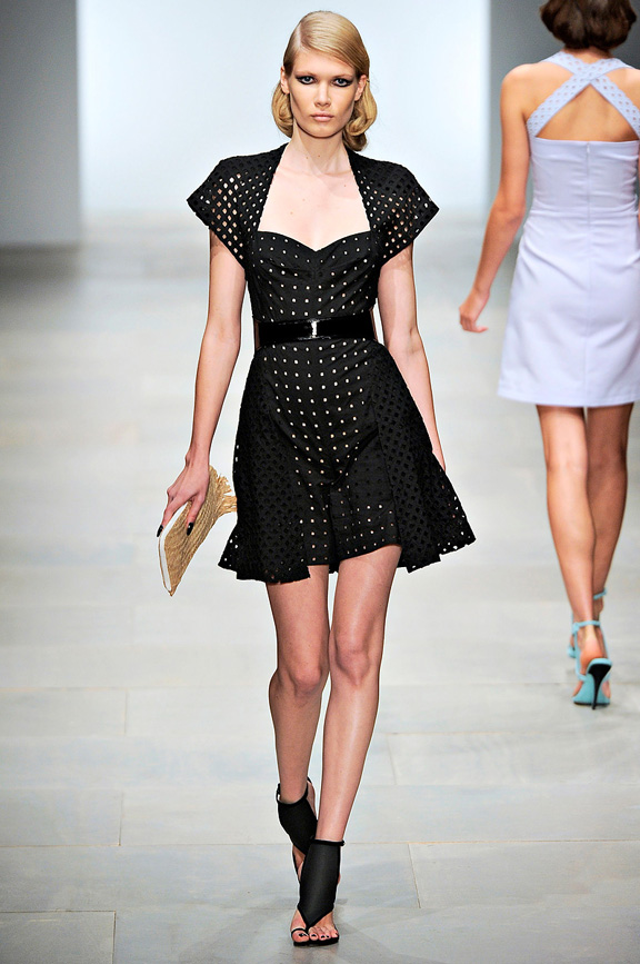 Marios Schwab, London fashion week, fashion shows, catwalk, spring summer 2012
