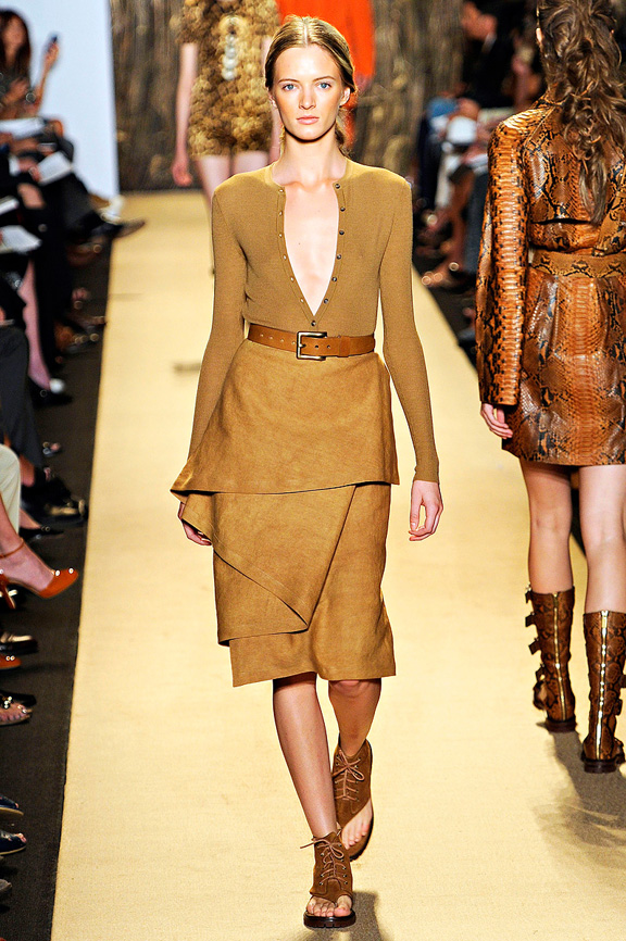 Michael Kors, New York fashion week, fashion shows, catwalk, spring summer 2012