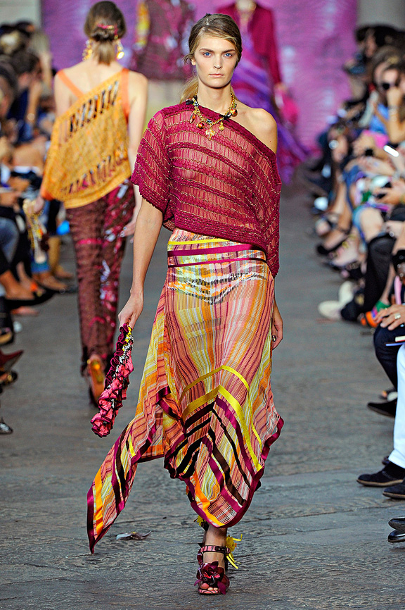 Missoni, Milan fashion week, fashion shows, catwalk, spring summer 2012