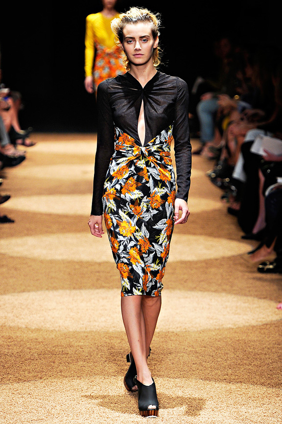 Proenza Schouler, New York fashion week, fashion shows, catwalk, spring summer 2012