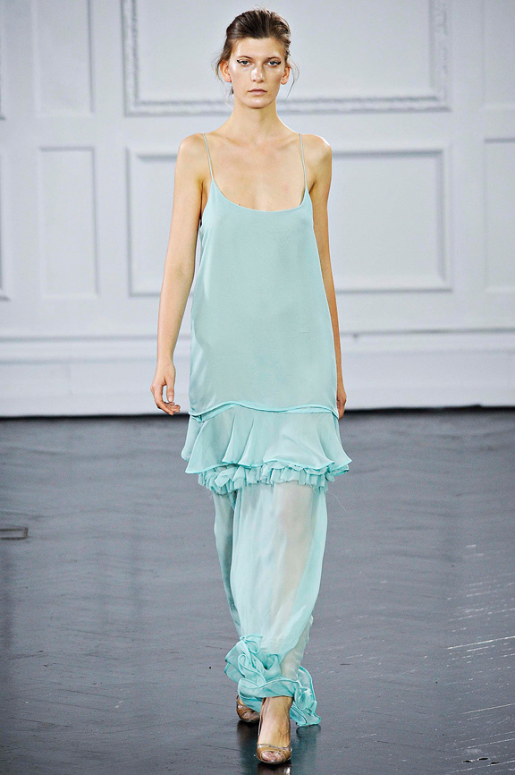 Richard Nicoll, London fashion week, fashion shows, catwalk, spring summer 2012