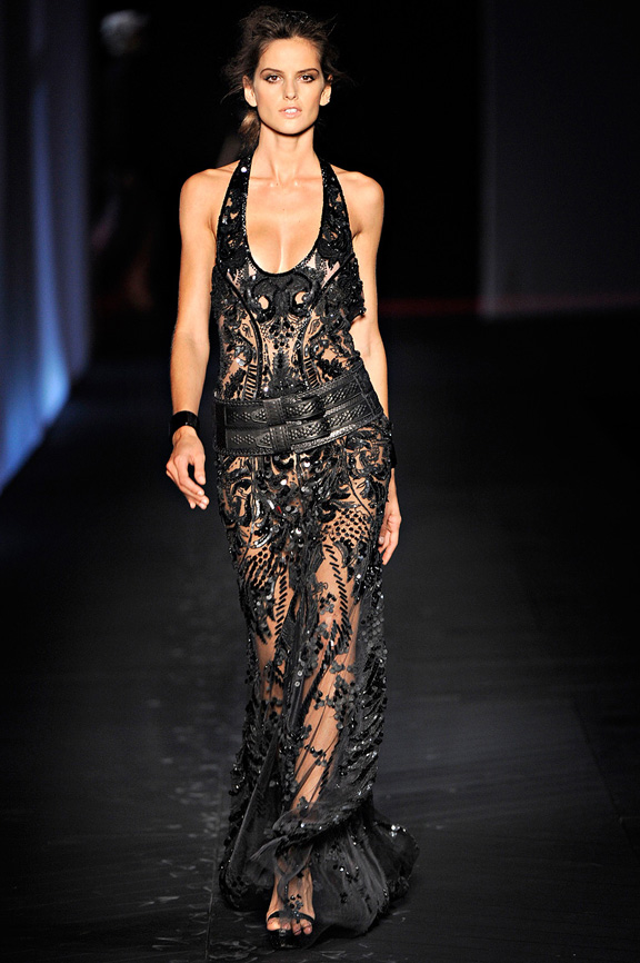 Roberto Cavalli, Milan fashion week, fashion shows, catwalk, spring summer 2012