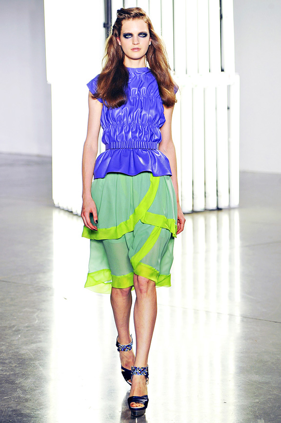 Rodarte, Kate and Laura Mulleavy, New York fashion week, fashion shows, catwalk, spring summer 2012