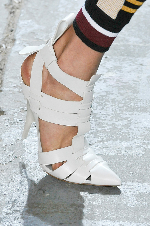 Alexander Wang, amazing shoes, New york fashion week, catwalk shows, spring summer 2012,