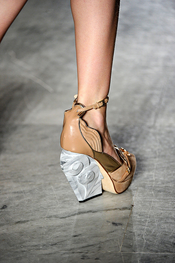 Aquilano Rimondi, Milan fashion week, catwalk shows, amazing shoes, spring summer 2012