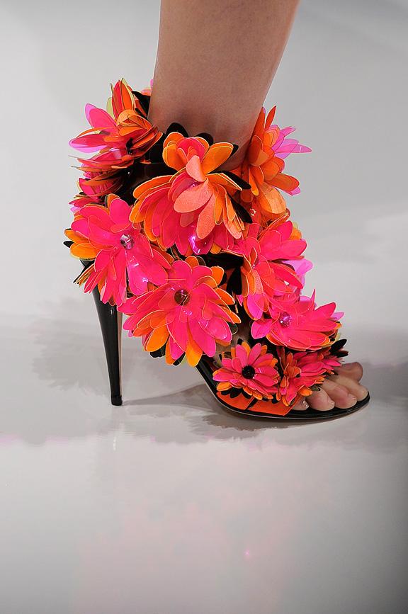 Blumarine, Milan fashion week, catwalk shows, amazing shoes, spring summer 2012