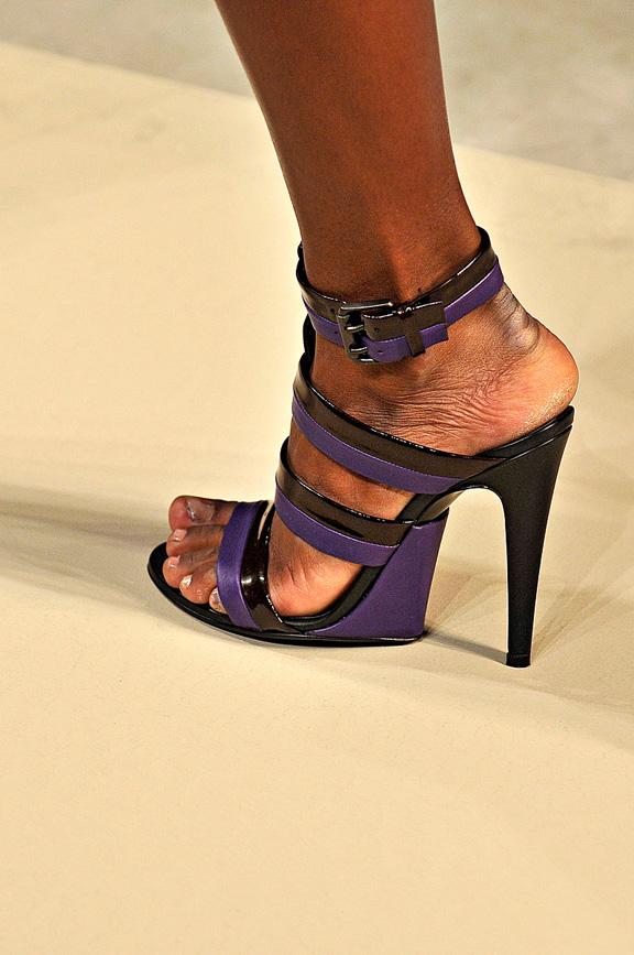 Bottega Veneta, Milan fashion week, catwalk shows, amazing shoes, spring summer 2012