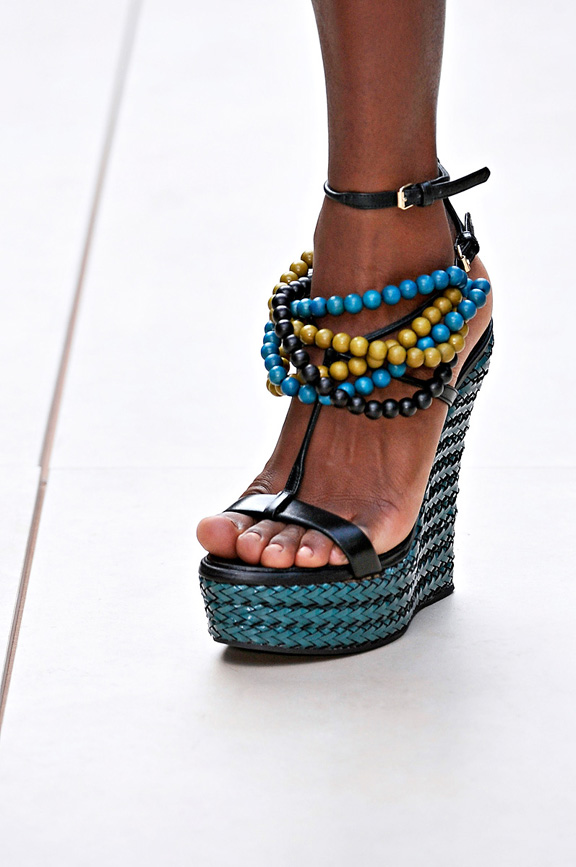 Burberry, London Fashion week, shoes, spring summer 2012, catwalk shows, amazing shoes