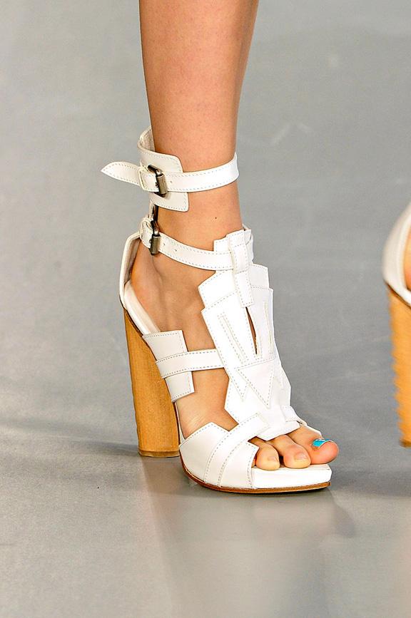 David Koma, London Fashion week, shoes, spring summer 2012, catwalk shows, amazing shoes