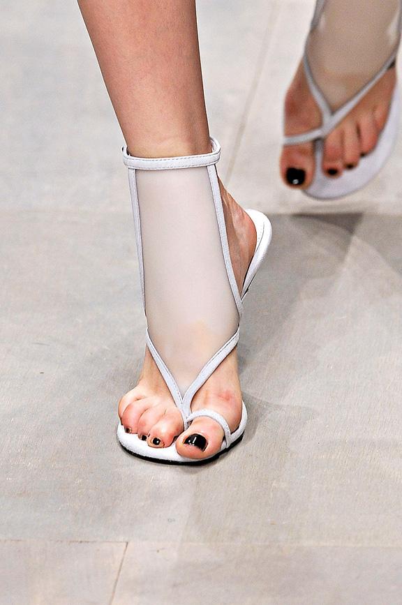 Marios Schwab, London Fashion week, shoes, spring summer 2012, catwalk shows, amazing shoes