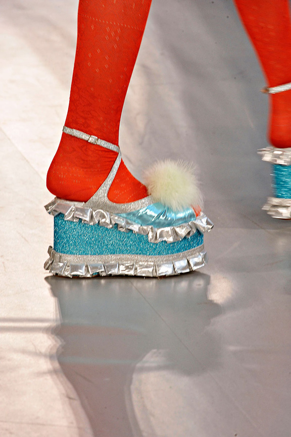Meadham Kirchoff, London Fashion week, shoes, spring summer 2012, catwalk shows, amazing shoes