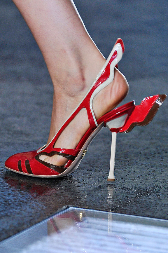 Milan Spring Summer 2012 Catwalk Shoes