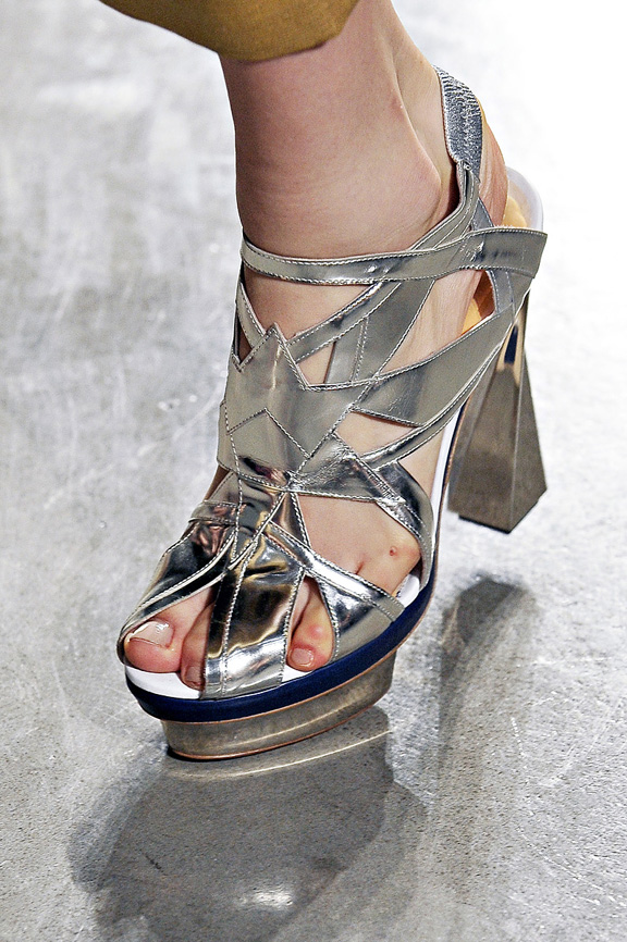 Rodarte, amazing shoes, New york fashion week, catwalk shows, spring summer 2012,