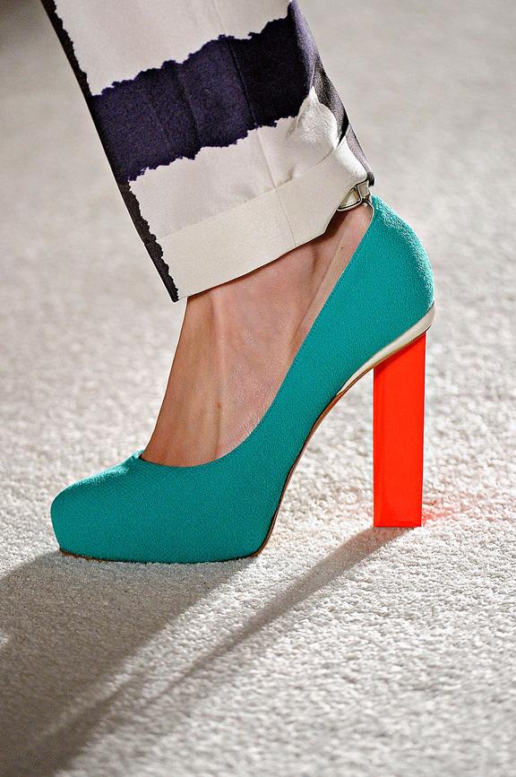 Roksanda Ilincic, London Fashion week, shoes, spring summer 2012, catwalk shows, amazing shoes