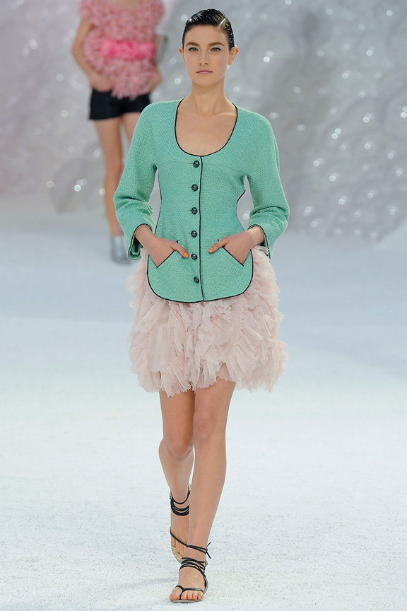 Chanel, Karl Lagerfeld, Paris fashion week, fashion shows, catwalk, spring summer 2012