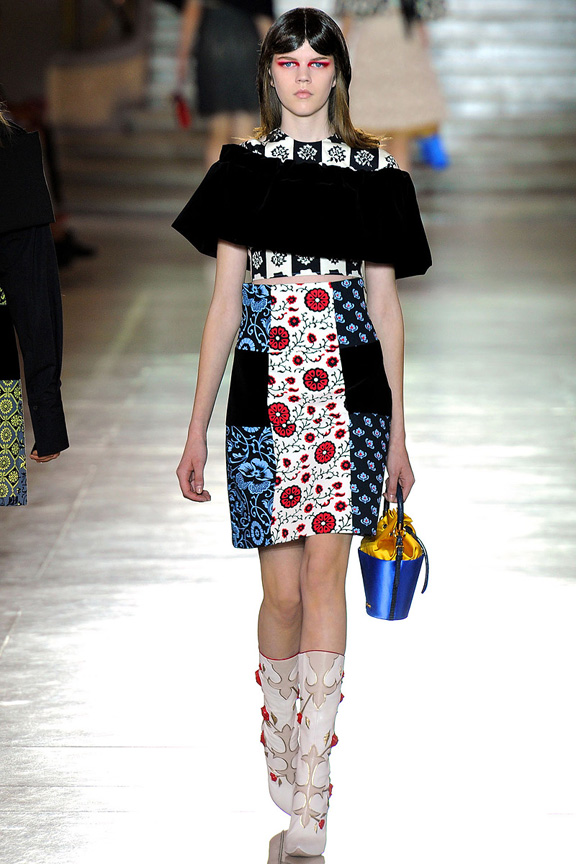 Miu Miu, Prada, Paris fashion week, fashion shows, catwalk, spring summer 2012