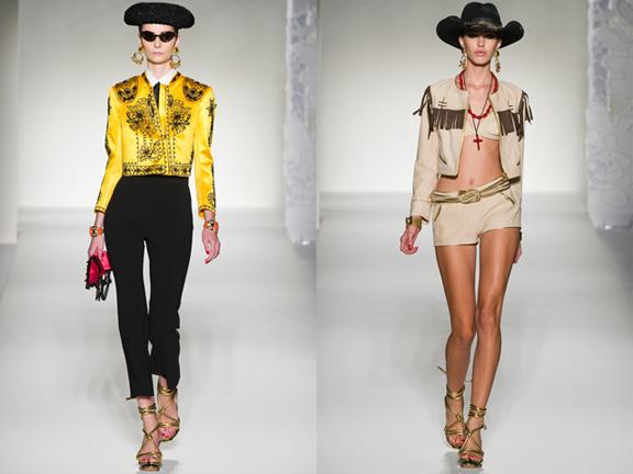 Milan fashion week, fashion shows, catwalk, spring summer 2012, Moschino
