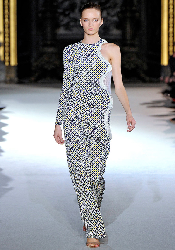 Stella McCartney, Paris fashion week, fashion shows, catwalk, spring summer 2012