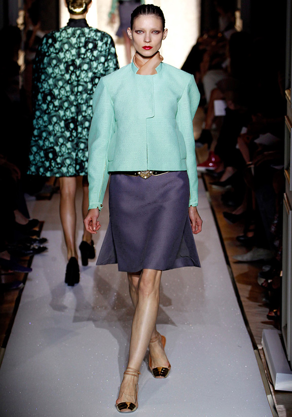 Stefano Pilati, Yves Saint Laurent, Paris fashion week, fashion shows, catwalk, spring summer 2012