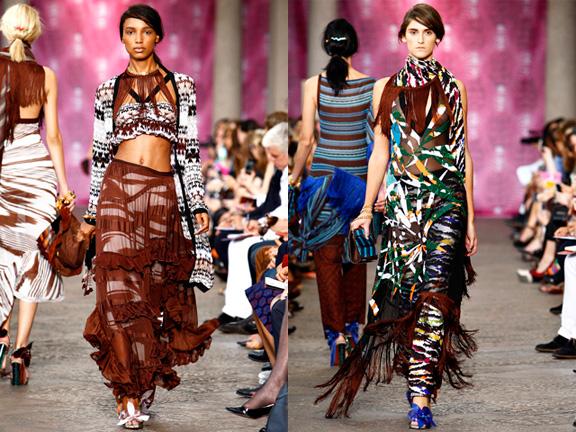 Milan fashion week, fashion shows, catwalk, spring summer 2012, Missoni