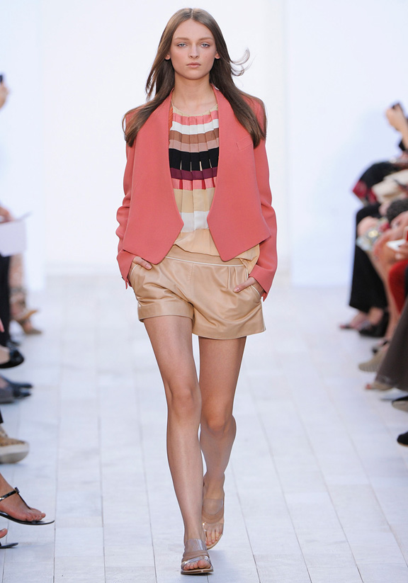 Clare Waight Keller, Chloe, Paris fashion week, fashion shows, catwalk, spring summer 2012