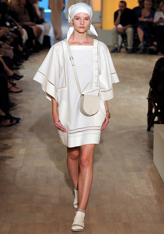 Hermes, Christophe Lemaire, Paris fashion week, fashion shows, catwalk, spring summer 2012