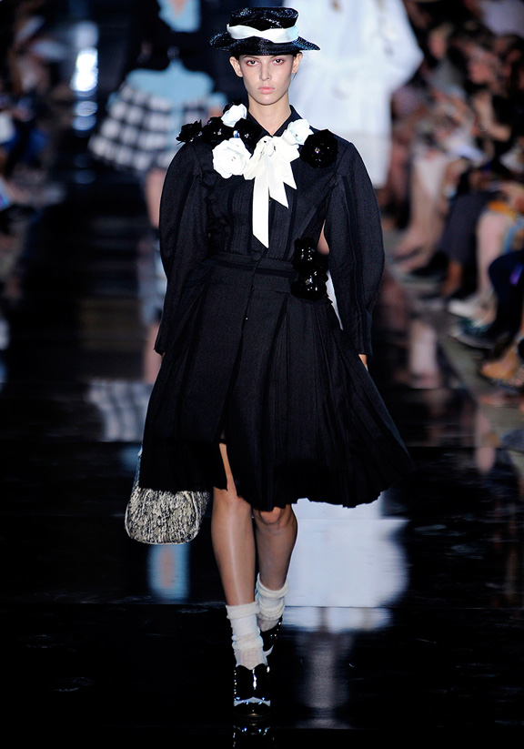 John Galliano, Bill Gaytten, Paris fashion week, fashion shows, catwalk, spring summer 2012