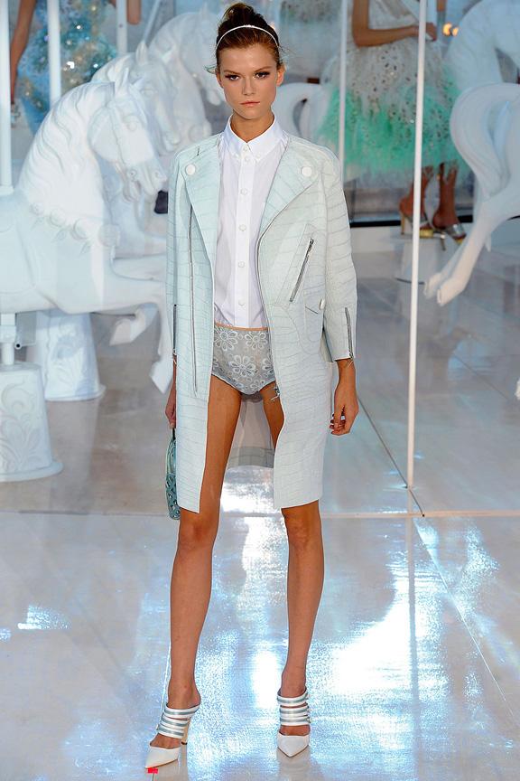Marc Jacobs, Louis Vuitton, Paris fashion week, fashion shows, catwalk, spring summer 2012