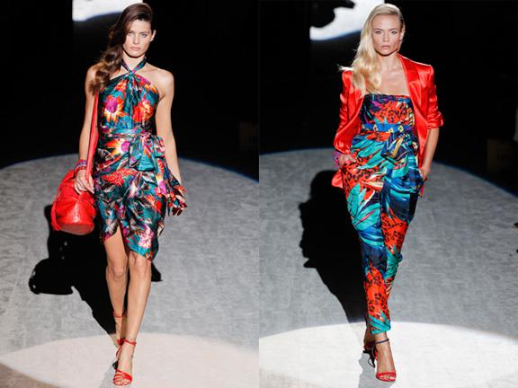 Milan fashion week, fashion shows, catwalk, spring summer 2012, Salvatore Ferragamo