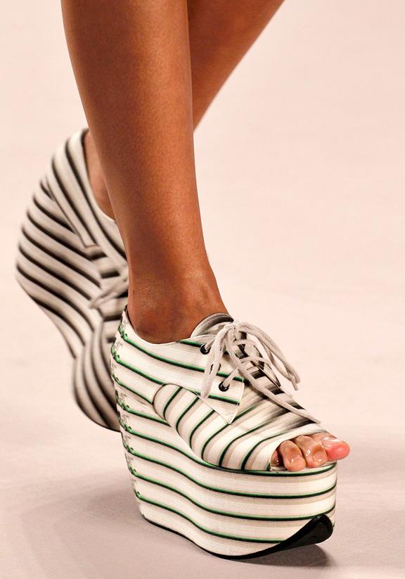 spring summer 2012, amazing shoes, catwalk shows, Paris, Akris