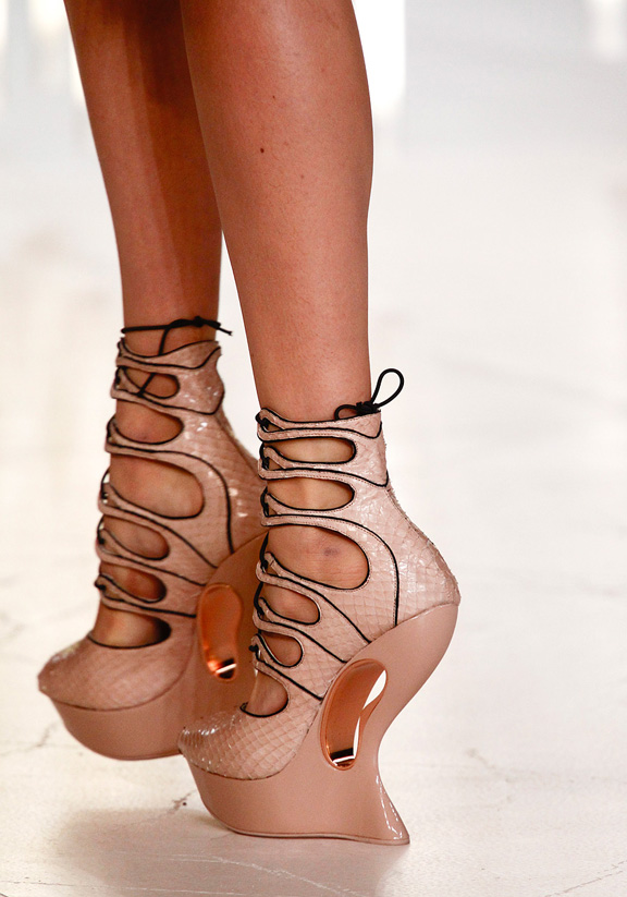 spring summer 2012, amazing shoes, catwalk shows, Paris, Alexander McQueen
