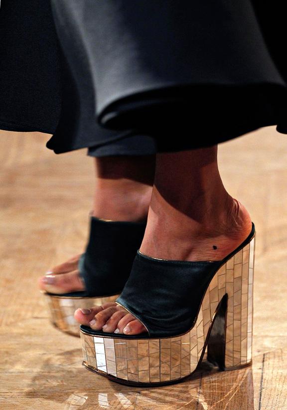 spring summer 2012, amazing shoes, catwalk shows, Paris, Rochas