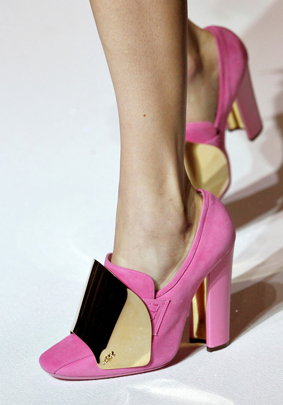 spring summer 2012, amazing shoes, catwalk shows, Paris, Yves Saint Laurent