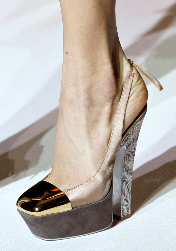 spring summer 2012, amazing shoes, catwalk shows, Paris, Yves Saint Laurent