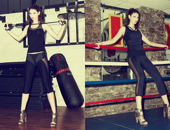 Michi, activewear, Canadian designer, Canadan fashion