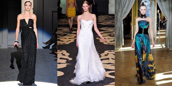 evening gowns, evening wear, fashion lists