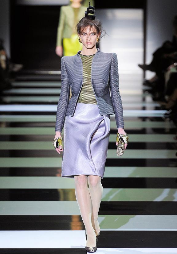 Paris fashion week, haute couture, fashion shows, catwalk, spring summer 2012, Armani Prive, Giorgio Armani