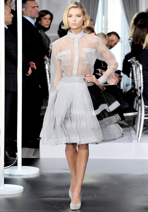 Paris fashion week, haute couture, fashion shows, catwalk, spring summer 2012, christian dior, john galliano, bill gaytten