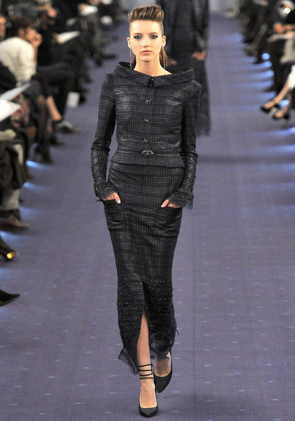 Paris fashion week, haute couture, fashion shows, catwalk, spring summer 2012, Chanel, Karl Lagerfeld
