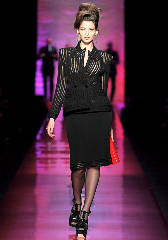 Paris fashion week, haute couture, fashion shows, catwalk, spring summer 2012, Jean Paul Gaultier