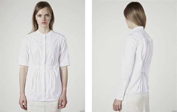 palmer harding, white shirt, fashion chat, designer interview