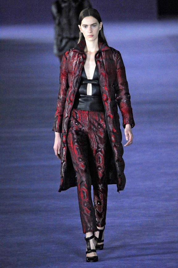 London fashion week, fashion shows, catwalk, fall winter 2012, Christopher Kane