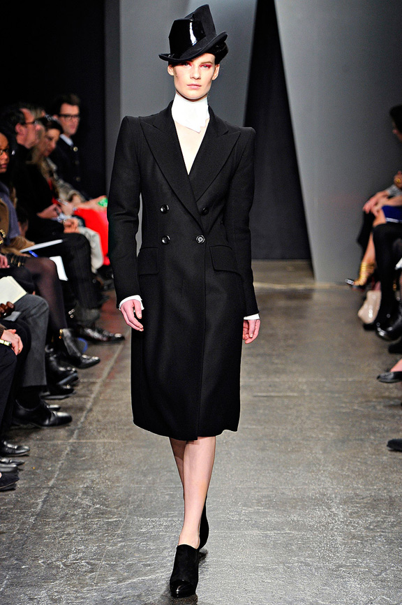 New York fashion week, fashion shows, catwalk, fall winter 2012, Donna Karan