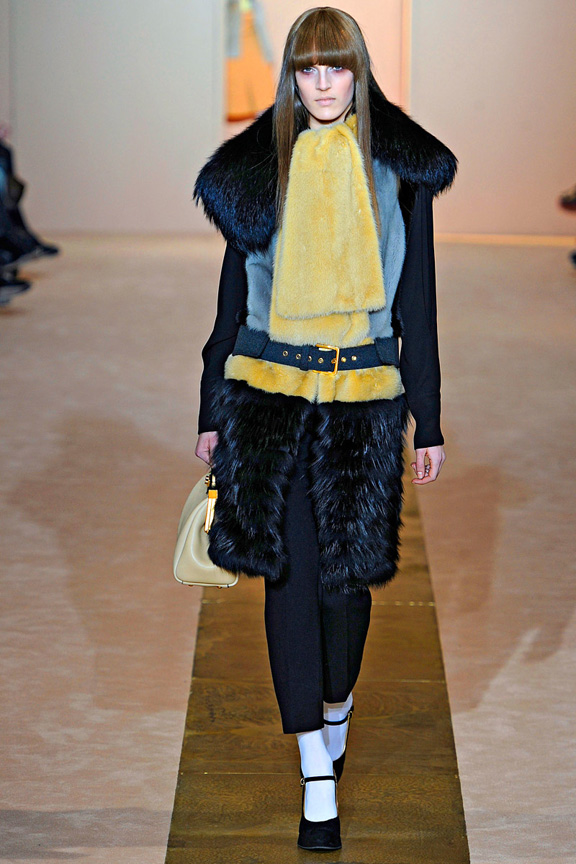 Milan fashion week, fashion shows, catwalk, fall winter 2012, marni