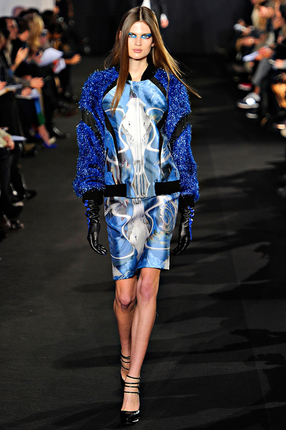 New York fashion week, fashion shows, catwalk, fall winter 2012, Prabal Gurung<br />