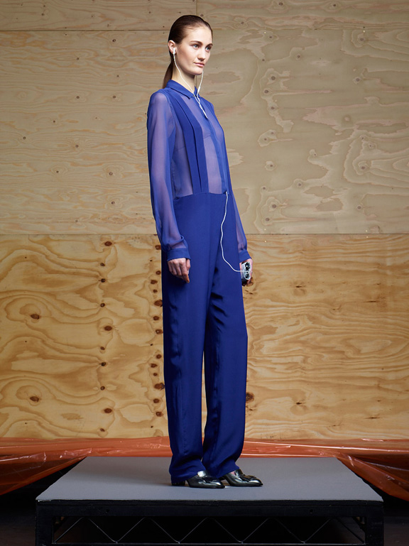 London fashion week, fashion shows, catwalk, fall winter 2012,richard nicoll<br />