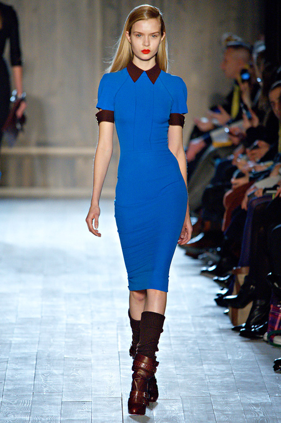 New York fashion week, fashion shows, catwalk, fall winter 2012, Victoria Beckham, celebrity fashion