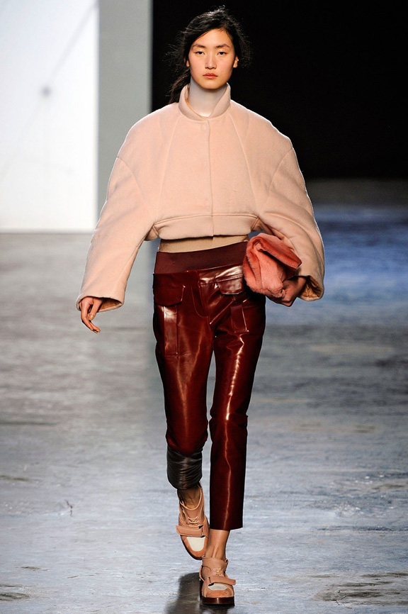 London fashion week, fashion shows, catwalk, fall winter 2012, acne