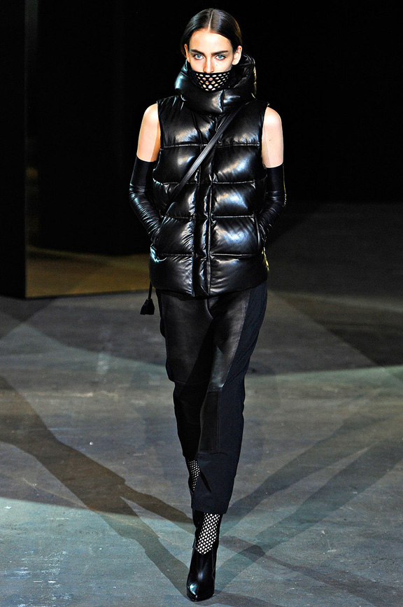 New York fashion week, fashion shows, catwalk, fall winter 2012, Alexander Wang<br />